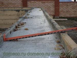 Фундамент для дома из оцилиндрованного бревна