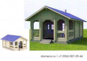деревянный дом, проект, баня