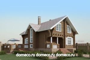 Проектные разработки деревянных домов из оцилиндрованного бревна