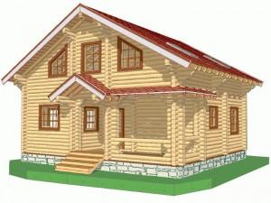 деревянный дом, проект