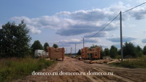 деревянные дома, строительство