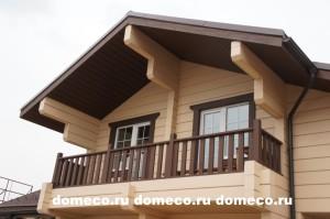 деревянные дома из профилированного бруса