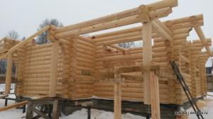строительство деревянных домов - сезон 2014