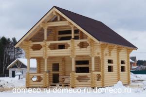 деревянный дом Воскресенское 124