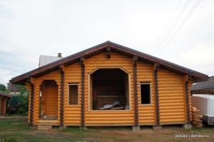 строительство деревянных домов 2014