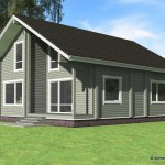 проект деревянного дома из бруса ДБ-106