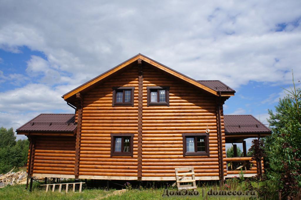 строительство деревянных домов 2015