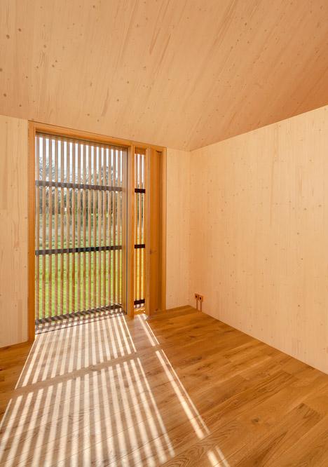 деревянный дом в Баварии