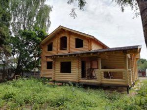 никитское дом из оцилиндрованного бревна